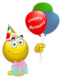 78 Best Birthday Emoticons Images