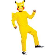 Pikachu Halloween Costume, Pokemon Costumes, Classic Halloween Costumes, Halloween Kids, Halloween Parties, Halloween Outfits, Home Design, Yellow Jumpsuit, Book Week Costume