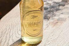 Lovely packaging design for Danish soft drink factory Frem from designer Jonathan Faust.
