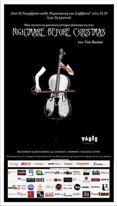"""Η μουσική παράσταση """"ΧΡΙΣΤΟΥΓΕΝΝΙΑΤΙΚΟΣ ΕΦΙΑΛΤΗΣ"""" για δεύτερη χρονιά στον Πολυχώρο Vault"""