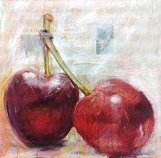 "Massimiliano Malimpensa; Painting, ""What a beautiful couple"""