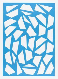 o.T. (4/19) 64,6 x 47,2 cm, Handoffset auf Papier, ED 10, 2014