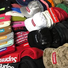 2422b32f95c HATS BEANIES MASKS AND MORE HATS! SUPREME