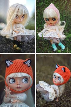 Custom Blythe Doll Collection doll Blythe doll handmade Doll OOAK doll Art doll