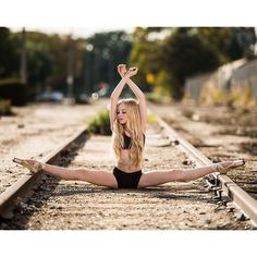dancer railroad track picture - Google Search