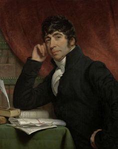 Portret van Willem Bilderdijk, Charles Howard Hodges, 1810