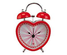 Relógio despertador love bells