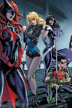 Batman #50 - J Scott Campbell Connecting Variant Cover B