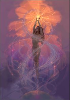 Bow and Arrow: She is swirling around above us..I want her to come down here.. I want her to stand. To Rise. To BE.