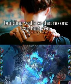 Building walls so that no one can hurt you