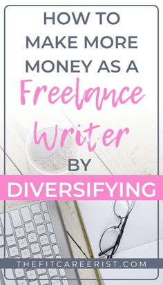 5 Ways to Diversify Your Income as a Freelance Writer - Book Writing Tips, Writing Jobs, Article Writing, Make More Money, Make Money Online, Business Tips, Online Business, Writing Portfolio, Starting A Business