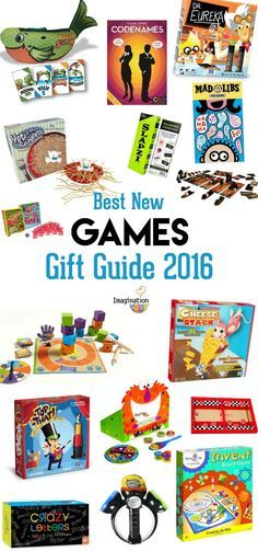 Games & Puzzles Holiday Gifts for Kids 2016 Christmas Gift Guide, Christmas Games, Christmas 2016, Xmas, New Games For Kids, Gifts For Kids, Holiday Fun, Holiday Gifts, Educational Toys For Preschoolers
