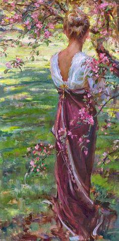 Pintura mulher e solidão...