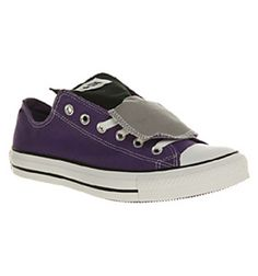 Converse All Star Ox Low Double Tongue Laker Grey Smu Shoes Trainers