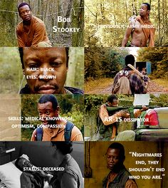 Knowing About Bob Stookey #TWD