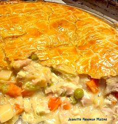 Turkey Pot Pie - poultry seasoning instead of sage in mine... Too much thyme?