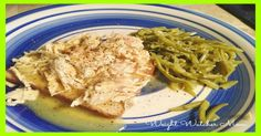 Slow Cooker Chicken and Gravy 4 SmartPoints - weight watchers recipes