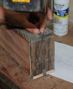 DIY Rustic Pallet Wood Boxes