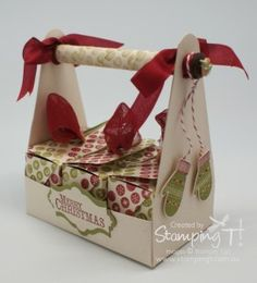 Stampin' Up! Stamping T! – Cheerful Christmas Carrier