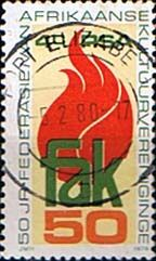 South Africa 1979 Federation of Afrikaans Cultural Societies Fine Used SG 473 Scott 531 Condition Fine Used Only