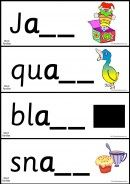 Phonics Word Families - Loads Of Word Family Cards - K-3 Teacher Resources