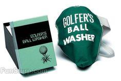 Golfer's Ball Washer | All Gag Gifts | FunSlurp.com