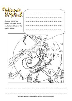 Resultado de imagen para winnie the witch activities to print English Activities, Class Activities, Winnie The Witch, Witch Pictures, Room On The Broom, Reception Class, Picture Dictionary, Grande Section, Magazine Art