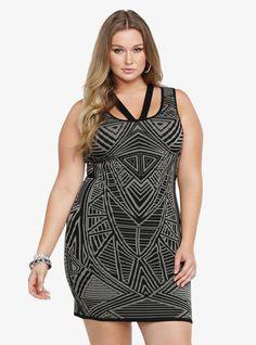 Plus Size Bodycon Sweater Dress