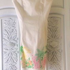 Lilly Pulitzer dress  Strapless Lilly Pulitzer dress- - very rare - never worn. Absolutely precious!!!❤️ Lilly Pulitzer Dresses