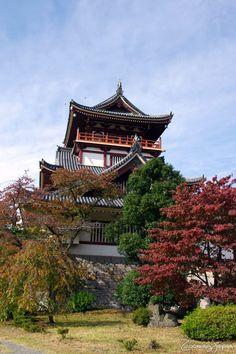 Fushimi Momoyama Castle, Kyoto, Japan 伏見桃山城