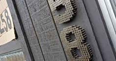 How-To: DIY Modern Industrial House Numbers