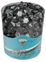 Black Wedding Chocolates Stars Barrel (500g)
