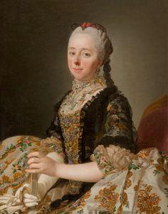 Isabella, Countess of Hertford, Alexander Roslin, 1765