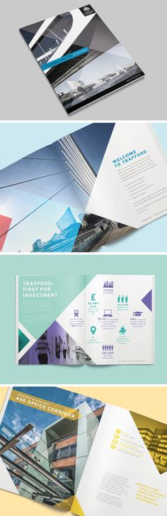 Trafford Council Investment Brochure - Creative design layout of brochure and icons showcasing Traffords districts and potential investment opportunities. Trafford Council Investment Brochure - Creative design layout of brochure and ic. Deborah S Creative Brochure, Finance Blog, Trafford, Layout Design, Creative Design, Budgeting, Investing, Icons, Projects