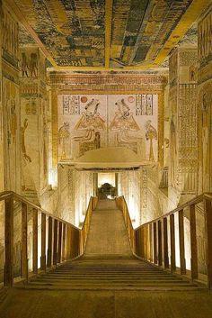 #HIDDENVALLEY http://historyofromanovs.tumblr.com/post/124811463480/alquimia-interior-tomb-of-ramesses-vi-egypt