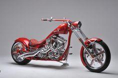 Lumen bike chopper, custom bike for marketing