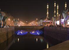 Downtown Aleppo, Queik river at night - Aleppo - Wikipedia