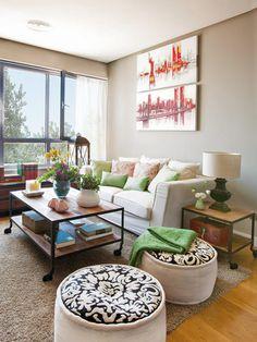1000 images about decoraci n del hogar on pinterest for Decoracion de casas de 7 metros