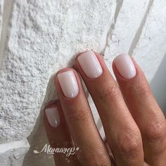 Natural nails Natural nude nails, manicure ideas #manicure #nails #natural ... - Nail Designs