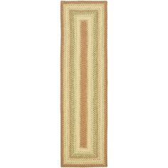 Safavieh Hand-woven Country Living Reversible Rust Braided Rug (2'3 x 6') - Overstock™ Shopping - Great Deals on Safavieh Runner Rugs