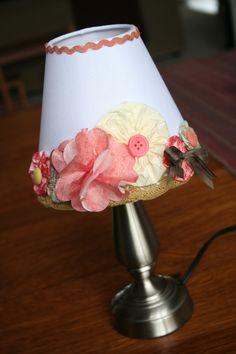 sweet yo-yo lampshade
