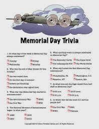 Memorial Day trivia