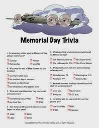 memorial day facts and history