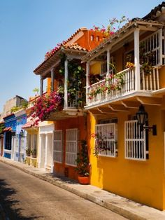 historic center of Cartagena, Colombia ~ UNESCO World Heritage Site Columbia South America, South America Map, Central America, America Continent, America Girl, Bolivia, Ecuador, Travel Around The World, Around The Worlds