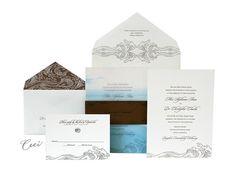 Las Olas - Luxury Wedding Invitations - Ceci Ready-to-Order Collection - Ceci Wedding - Ceci New York