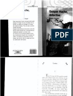 Quique Hache Detective[1] Control, Social, Detective, Ale, Texts, World, Text Types, Being A Parent, Two Sisters