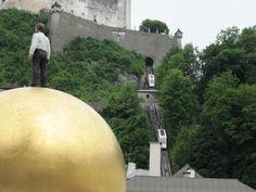 This way to Fortress Hohensalzburg, Salzburg, Austria #Salzburg #Austria