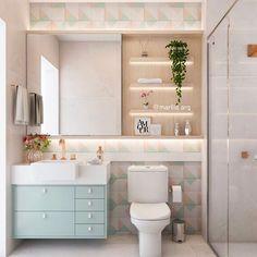 65 modern bathroom design ideas plus tips on how to make it more attractive page 32 Modern Bathroom Design, Bathroom Interior Design, Home Interior, Interior Livingroom, Interior Ideas, Interior Inspiration, Cheap Wall Decor, Cheap Home Decor, Dream Bathrooms