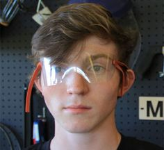 Home-Dzine - Make safety glasses from plastic bottles. I came across this idea on Make. It's another great way to repurpose and recycle plastic bottles into a safety shield or safety glasses for when using an angle grinder or cutting metal and tile, etc. http://www.home-dzine.co.za/crafts/craft-sodaglasses.htm