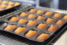 Les madeleines au miel de la Croisette, signées Bruno Oger Cupcakes, La Croisette, Macaron, Griddle Pan, Buffet, Sweets, Cookies, Desserts, Food Ideas